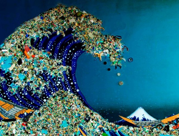Garbage in Ocean